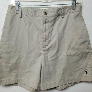 Ralph Lauren Sport Womens Shorts Khaki Size 8